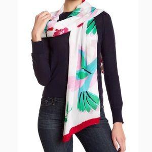 Kate Spade ♠️ hummingbird scarf wrap nwt